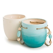 S&S Worldwide Color Me Ceramic Bisque Planter, Pack of 12 (CM223)