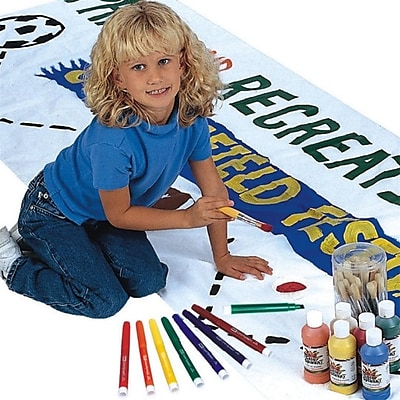 S&S Worldwide, Color Me Banner 3Ft X 10Ft, (FF060)