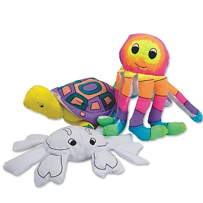 Sew-Star Int'L Trading Co Ltd, Color Me Fabric Sealife Creatures Pk/12, (S103)