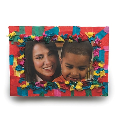 Limited Edition, Crunch And Stick Frame Craft Kit Pk48, (CF-13411)