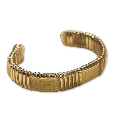Pepperell Braiding Company, Rexlace Cuff Bracelet Kit Gold Pk12, (GPRXJW1)
