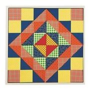 Roylco Inc, Quilt Mosiacs Craft Kit Pk/32, (96511)