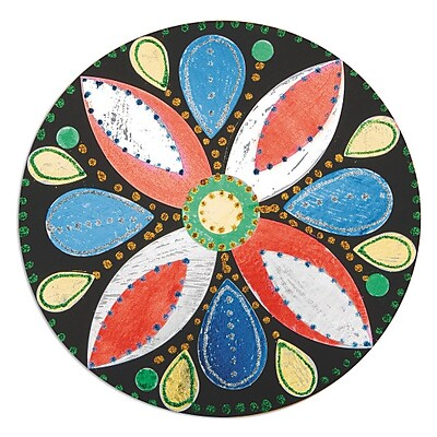 Limited Edition, Foil Leaf Mosaics Craft Kit Pk12, (CF-14097)
