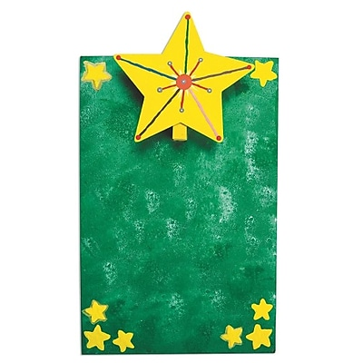 S&S Worldwide, Star Mini Clipboard Craft Kit Pk12, (GP3255)