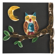 Limited Edition, Paper Quilled Owl Craft Kit Pk12, (CF-14086)