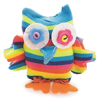 Limited Edition, Sock Owl Craft Kit Pk12, (CF-14092)