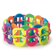 The Beadery, Neon Pop Tab Bracelet Craft Kit Pk24, (07375)