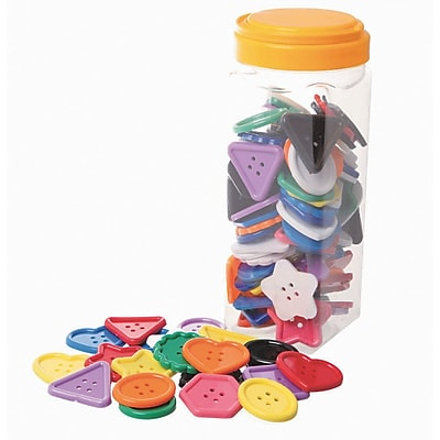 S&S Worldwide, Assorted Large Buttons, (13830J)