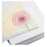 White Newsprint 18 x 24 30 lbs. White 500 Sheets//Pack