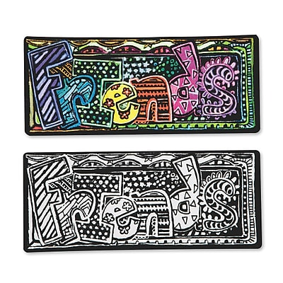 S&S Worldwide, Velvet Art Magnets Pk24, (PS1382)