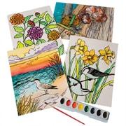 S&S Worldwide, Watercolor Velvet Art Posters Pk24, (PS1395)