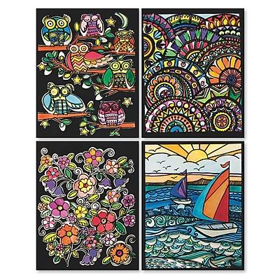 S&S Worldwide, Velvet Art 3D Posters Iii Pk/24, (76591-PS1402)