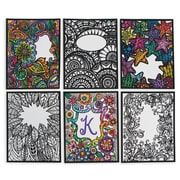 S&S Worldwide, Velvet Art Posters To Personalize Pk 30, (PS1419)