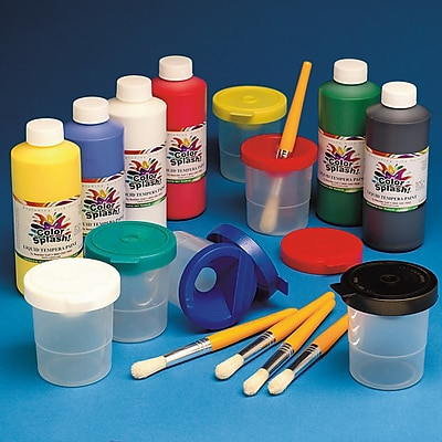 Wing Art Supplies Co Ltd, Cs Liq Temp Paint Pack Asst, (PT3343)