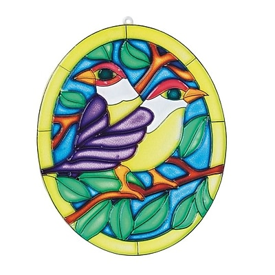 Limited Edition, Suncatcher Two Birds Pk12, (CF-1538)