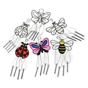 S&S Worldwide Windchime Suncatchers Bugs, Pack of 12 (P1220021)