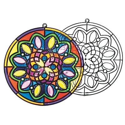 Wing Art Supplies Co Ltd, Mandala Sun Catcher Pk/12, (SG859)