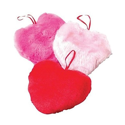 Us Toy Co Inc Neon Plush Hearts Pack of 12 (SB311)