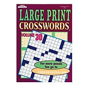 Kappa Large Print Word-Finds and Crosswords Books, 12/Pack (SL8981)