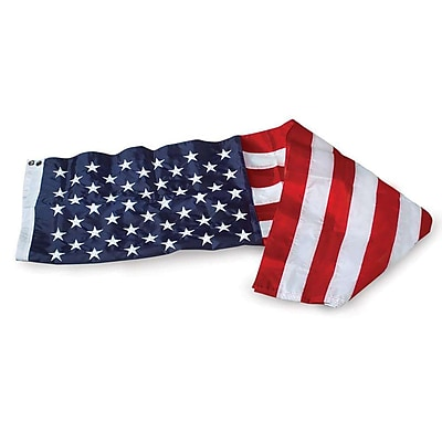U.S. Flag Store U.S. Flag, 4' x 6', Embroidered Nylon (60-100-4111)