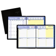 "AT-A-GLANCE® QuickNotes® Weekly/Monthly Appointment Book, January Start, 12 Months, Notes Space, 8"" x 9 7/8"""