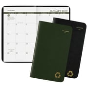 "AT-A-GLANCE® Recycled 2 Year Pocket Planner, 24 Months, January Start, 3 5/8"" x 6 1/16"", Assorted Colors"