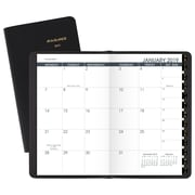 """AT-A-GLANCE® Monthly Planner, 13 Months, January Start, 3 5/8"""" x 6 1/8"""", Black"""