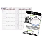 """AT-A-GLANCE® Day Runner® Nature Monthly Planner Refill, 12 Months, January Start, Loose-Leaf, 5 1/2"""" x 8 1/2"""" (061-685-19)"""