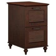 kathy ireland® Home by Bush Furniture Volcano Dusk 2 Drawer File Cabinet, Coastal Cherry (ALA009CC)