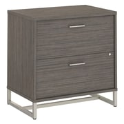 Office by kathy ireland® Method Lateral File Cabinet, Cocoa (KI70104)