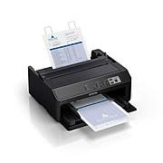 Epson FX-890II USB/Parallel Impact Monochrome Dot Matrix Printer, Black (C11CF37201)
