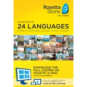 Rosetta Stone 24 Month Online Subscription for Windows/Mac (1-2 Users) [Download]