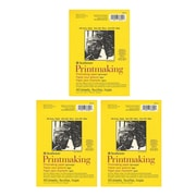 Strathmore Printmaking Paper Pads 5 in. x 7 in. 40 sheets [Pack of 3](PK3-333-5)