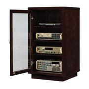 Bell'O Audio Video Component Cabinet, Dark Espresso (ATC402)