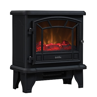 Duraflame Maxwell Electric Stove with Heater, Black