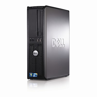 Dell Optiplex 380 Desktop Intel Core 2 Duo E7400 2.8GHz 2GB RAM 160GB Hard Drive, DVD Windows 10 Home, Refurbished