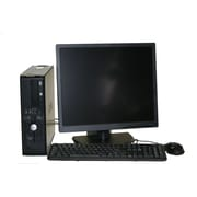 "Refurbished Dell 740 Desktop Amd Dual Core 2.0 2GB Ram 160GB Hard Drive DVD Windows 10 Home  Bundled With A 19"" LCD Monitor"