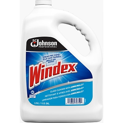 Windex® Glass Cleaner Refill, Gallon