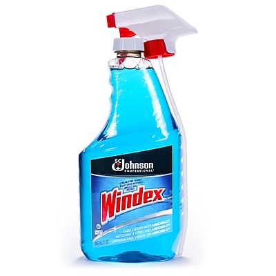 Windex® Glass Cleaner Spray, Capped w/Trigger, 32 oz. (695237)