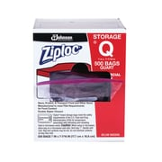 Ziploc® 1 Quart Double Zipper Storage Bags Commercial 500 CT