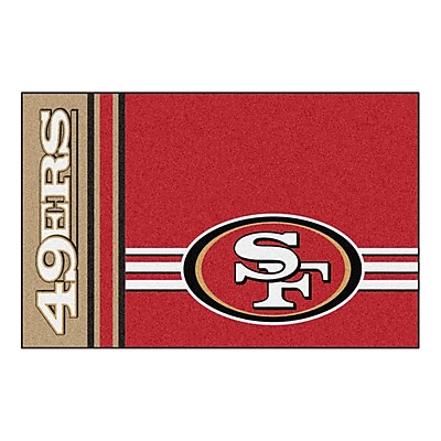FANMATS Starter Mat, Nylon, Team Color, Team Color 19
