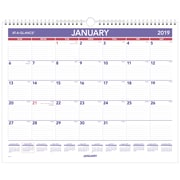 "AT-A-GLANCE® Monthly Wall Calendar, 12 Months, January Start, 15"" x 12"", Wirebound (PM8-28-19)"