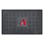 "FANMATS Medallion Door Mat, Rubber, Team Color, 19.5""x31.25"" (11289)"