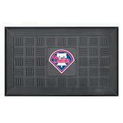 "FANMATS Medallion Door Mat, Rubber, Team Color, 19.5""x31.25"" (11309)"