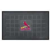 "FANMATS Medallion Door Mat, Rubber, Team Color, 19.5""x31.25"" (11316)"
