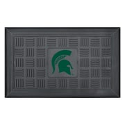 "FANMATS Medallion Door Mat, Rubber, Team Color, 19.5""x31.25"" (11394)"