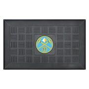 "FANMATS Medallion Door Mat, Rubber, Team Color, 19.5""x31.25"" (11407)"