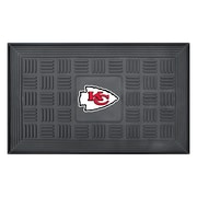 "FANMATS Medallion Door Mat, Rubber, Team Color, 19.5""x31.25"" (11447)"