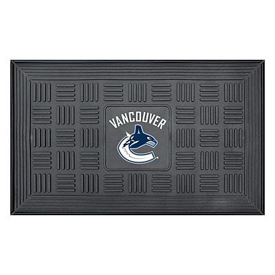 FANMATS Medallion Door Mat, Rubber, Team Color, 19.5
