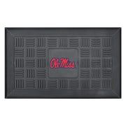 "FANMATS Medallion Door Mat, Rubber, Team Color, 19.5""x31.25"" (11781)"